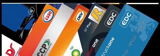 Compare os cartões CCP, BP, EDC e ESSO